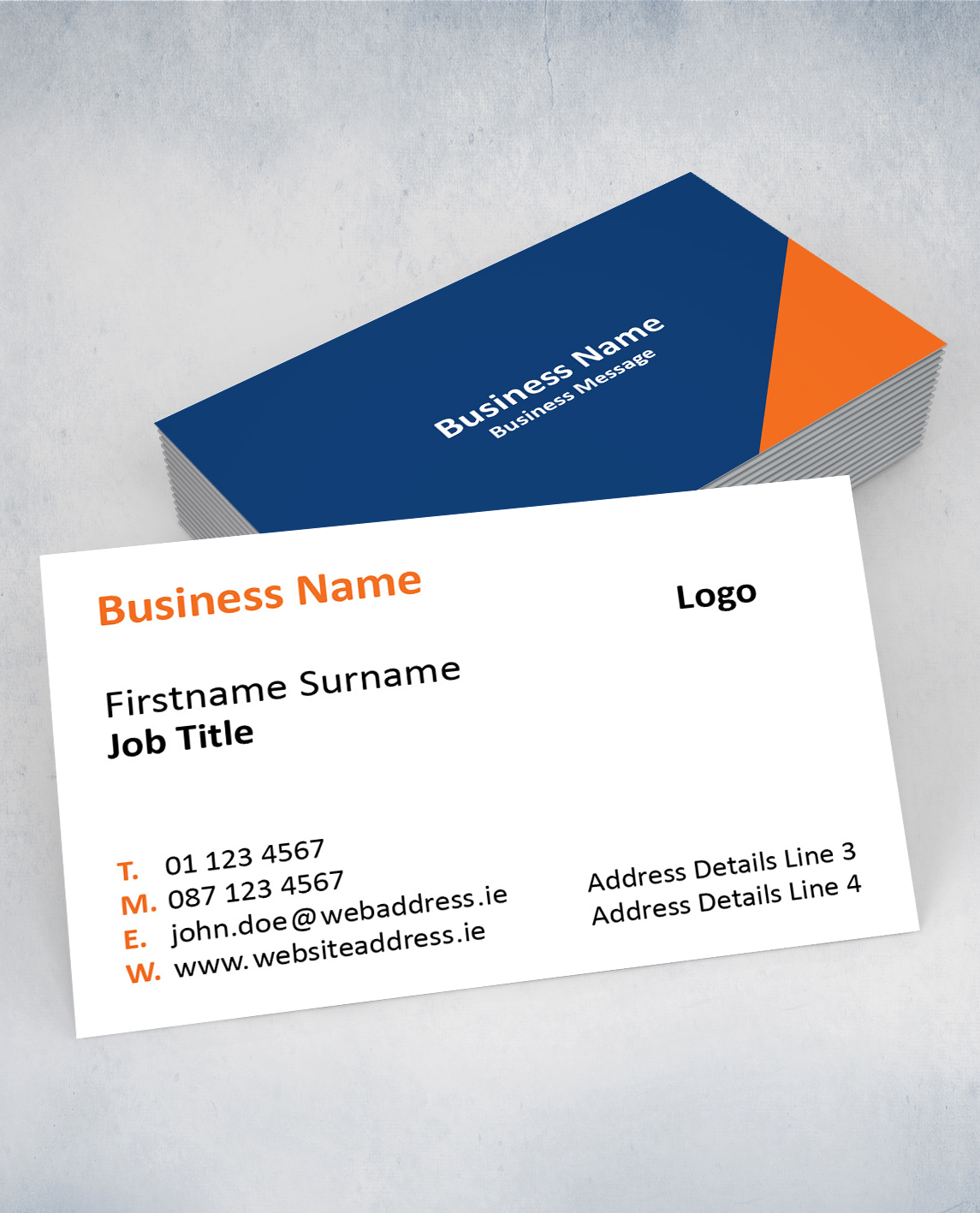 AdMailer from An Post | Business Cards Gallery